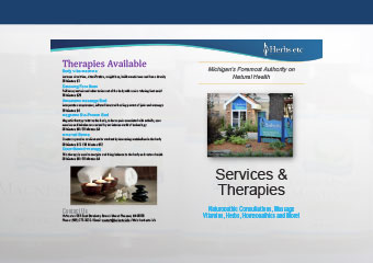 Services and Therapies page
